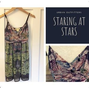 Urban Outfitters Staring at Stars Plum Dress Sz 0